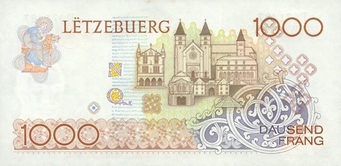Банк в Люксембурге