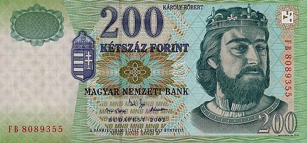 Счёт в Венгрии