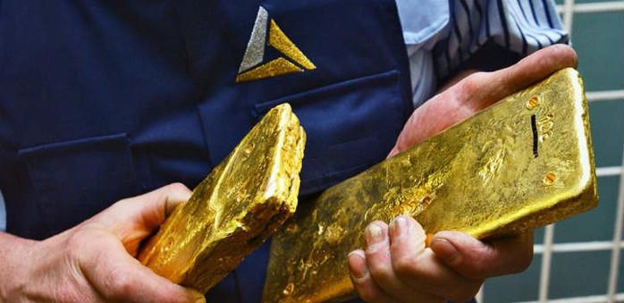 золото добыча